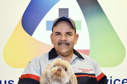 Gilberto Herrera, owner at A Plus Electric Motor Repair, Inc. owner