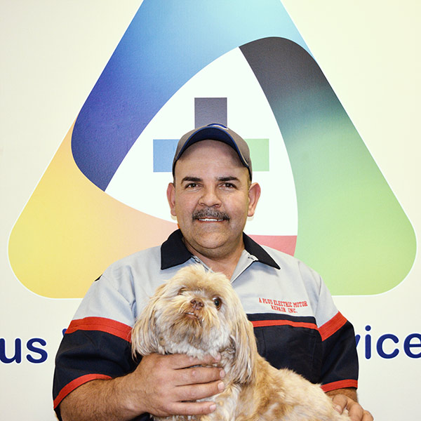 Gilberto Herrera, owner at A Plus Electric Motor Repair, Inc. owner